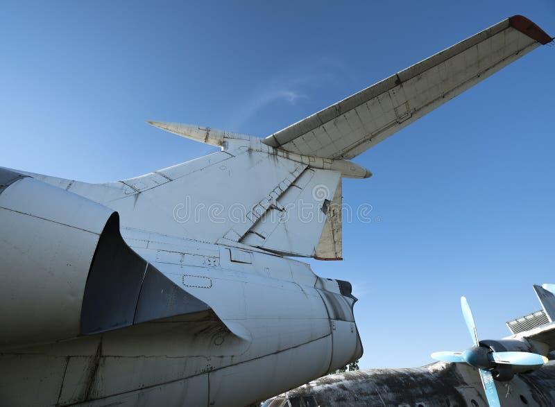 Zaniechani samoloty zdjęcia royalty free