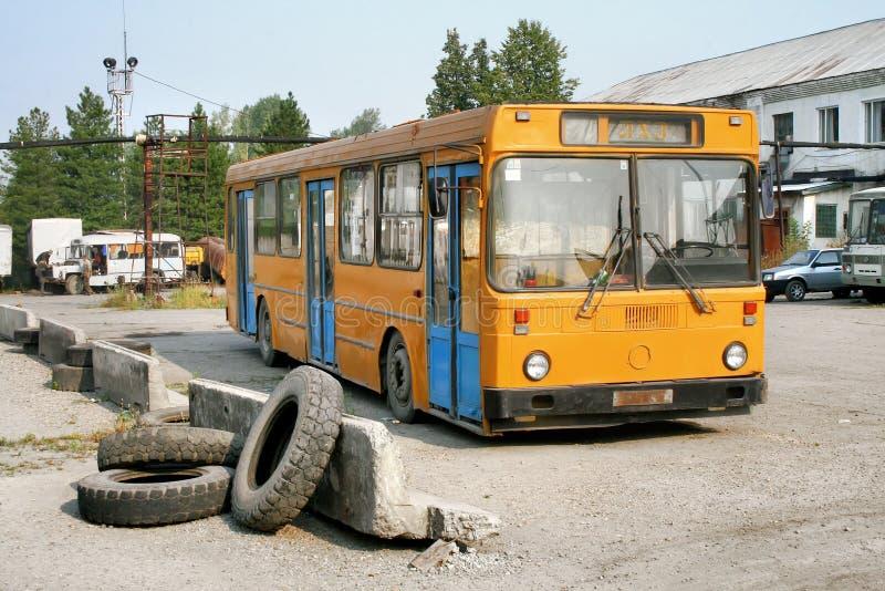 Zaniechany autobus zdjęcia royalty free