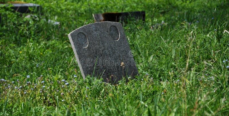 zaniechany cmentarz obrazy stock