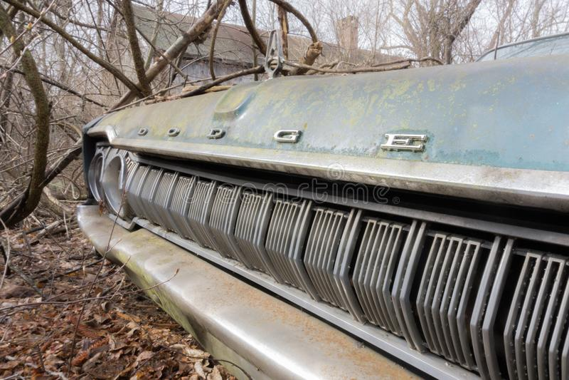 Zaniechany Dodge Coronet zdjęcia royalty free