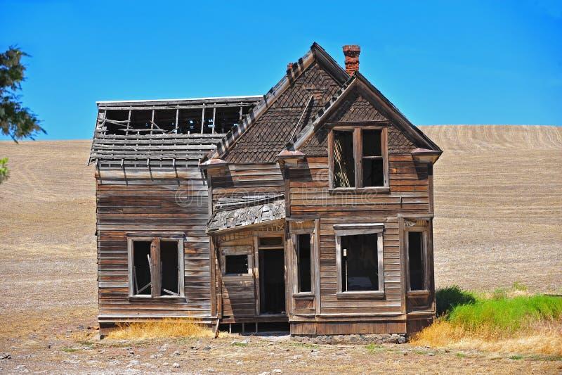 zaniechany dom obraz stock