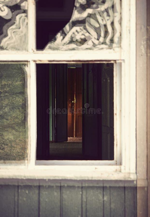 zaniechany dom zdjęcie stock