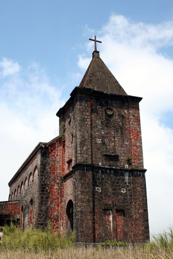 zaniechany kościół zdjęcia royalty free