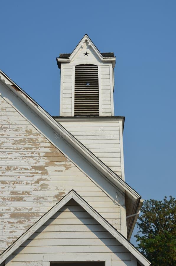 Zaniechany kościół, Willamette doliny, Oregon usa zdjęcia stock