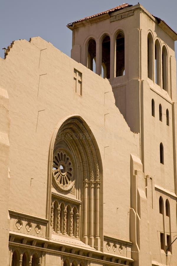 zaniechany kościelny historyczny fotografia stock