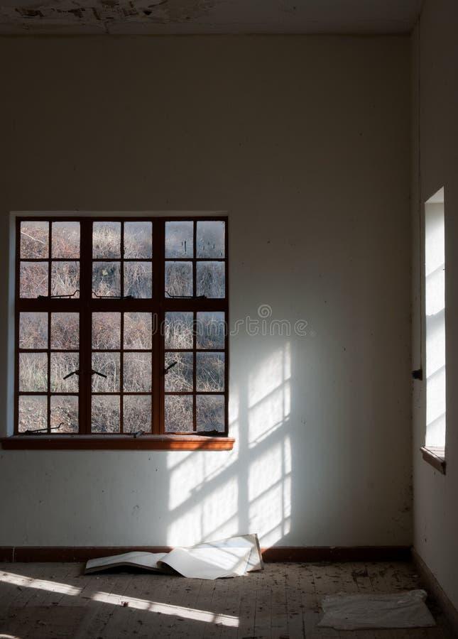 zaniechany pusty pokój zdjęcia royalty free