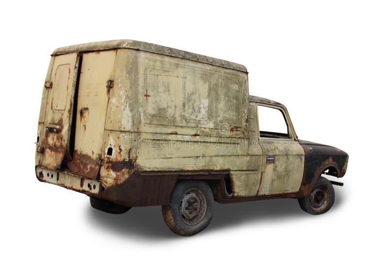 zaniechany samochodowy stary zdjęcie stock
