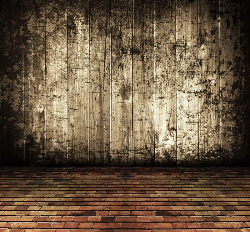 zaniechany tła grunge domu wieśniaka rocznik fotografia royalty free