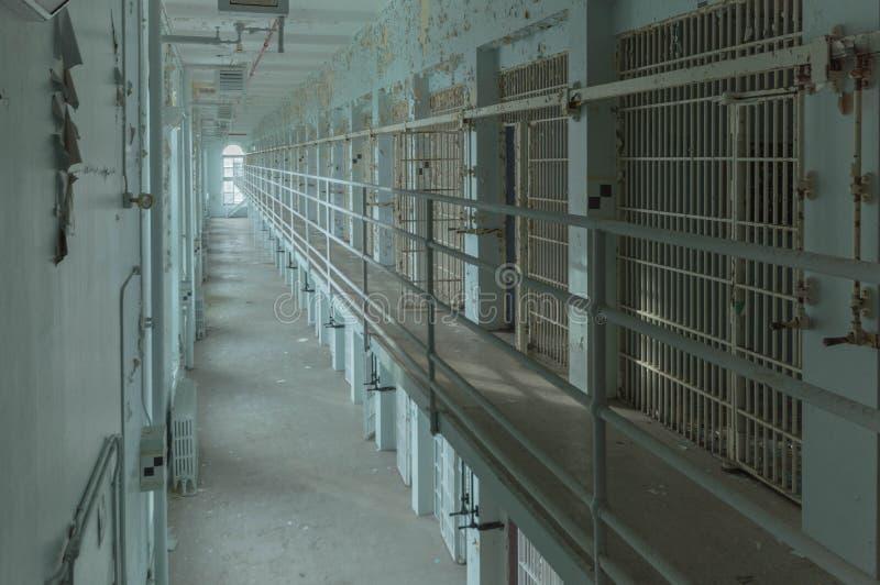 Zaniechany więzienie Miastowy Rekonesansowy Ontario zdjęcie royalty free