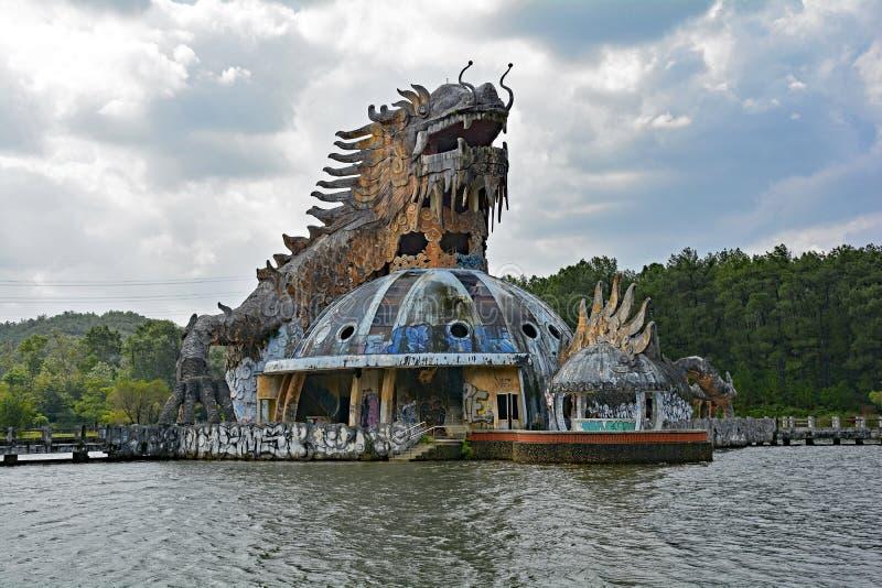 Zaniechany woda park zdjęcia royalty free