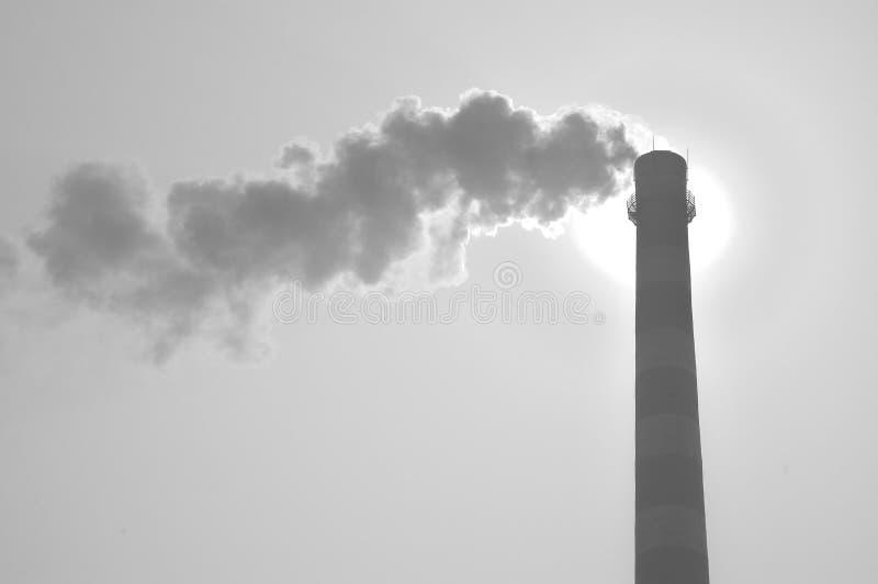 zanieczyszczenie powietrza zdjęcie stock