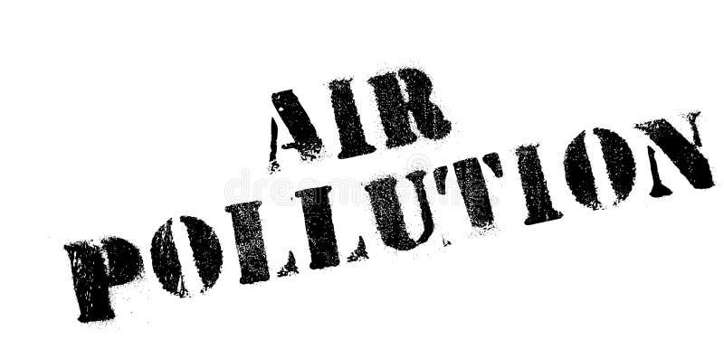 Zanieczyszczenie Powietrza pieczątka ilustracja wektor