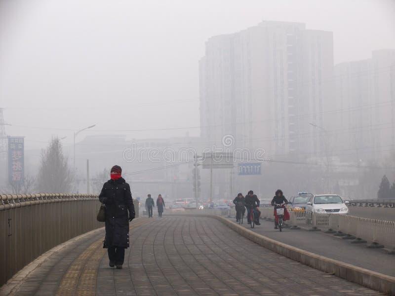 Download Zanieczyszczenie Powietrza W Pekin Obraz Stock Editorial - Obraz złożonej z leszczyna, sprawa: 28951849