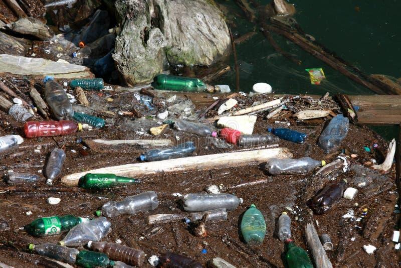 zanieczyszczona woda fotografia royalty free