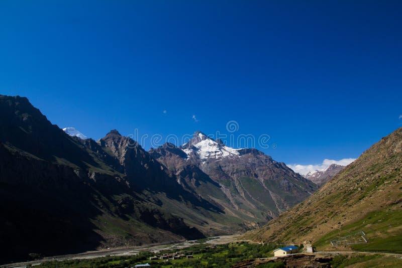 Zanskar Landscape royalty free stock photos