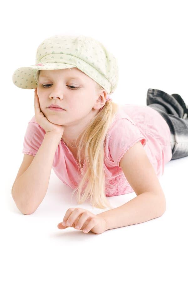 zanudzająca mała dziewczynka zdjęcia royalty free