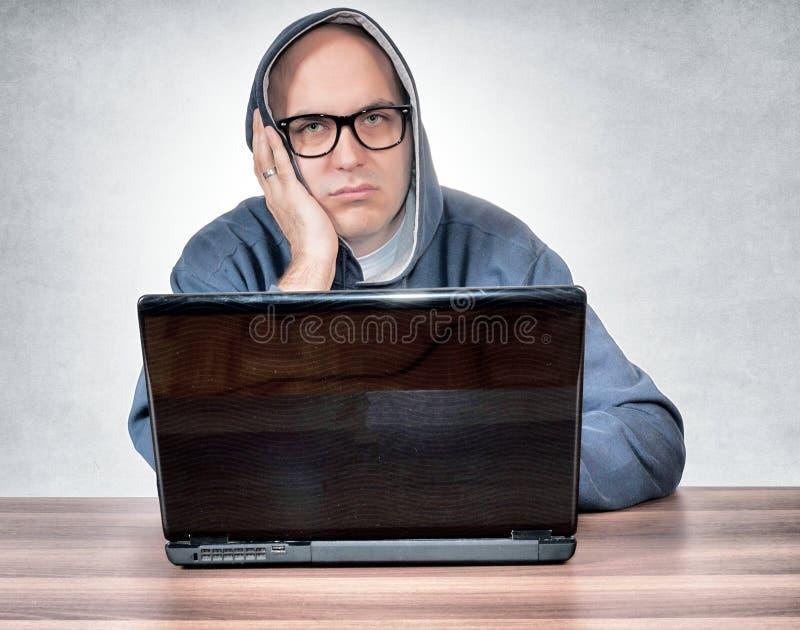 Zanudzający mężczyzna obraz stock