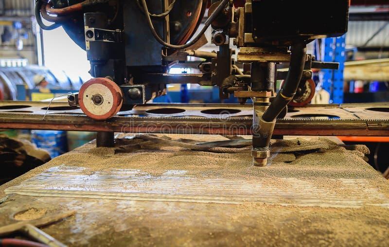 Zanurzający łuku spawu proces zdjęcie stock