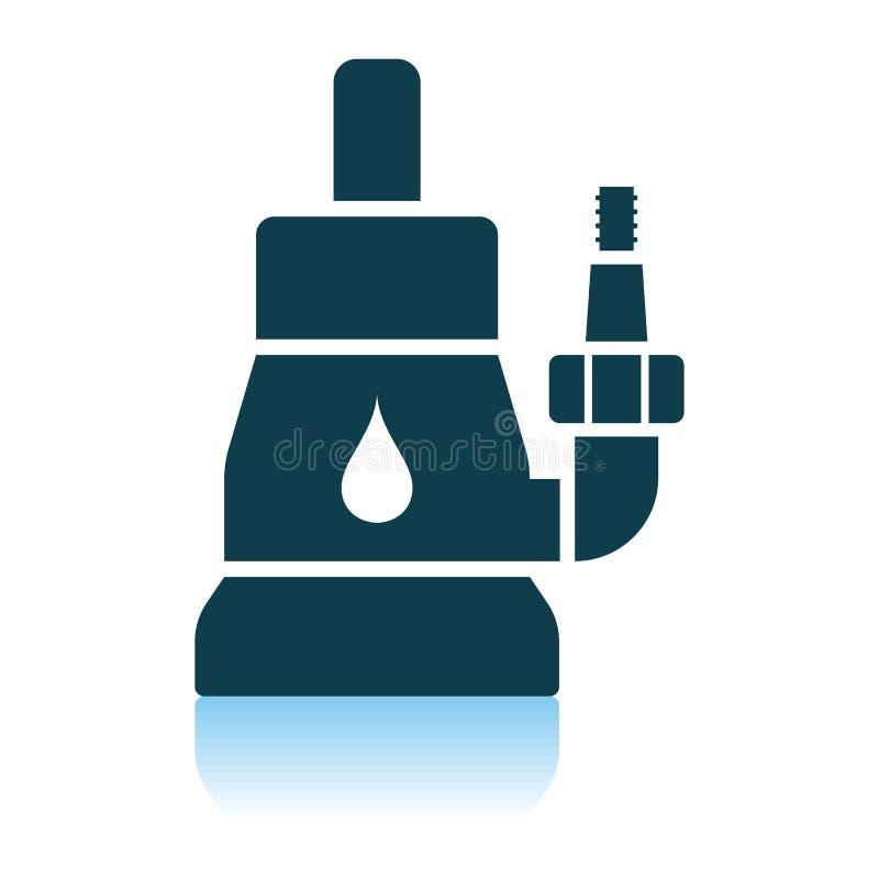 Zanurzalna pompy wodnej ikona royalty ilustracja