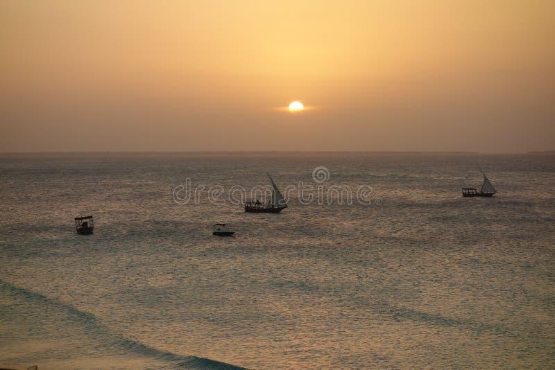 Download Zanzibar photo stock. Image du soirée, afrique, calme - 56489664