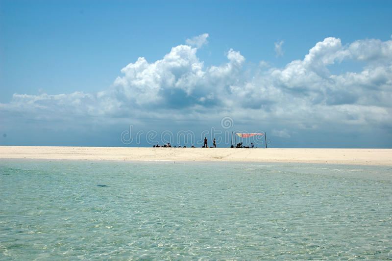 Zanzibar-Atoll lizenzfreie stockfotografie