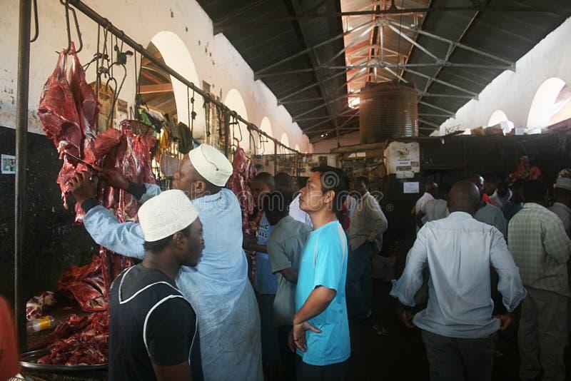 Zanzibar masarki sklep zdjęcia royalty free