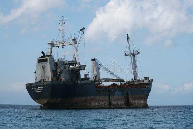 Zanzibar skepp royaltyfria bilder