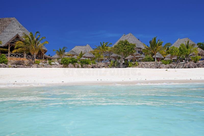 Zanzibar-Strand stockbilder