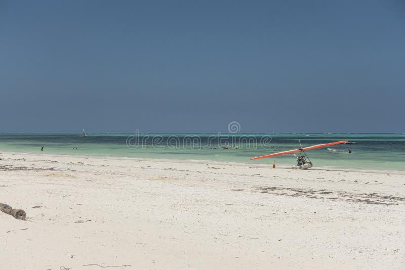 Zanzibar strand arkivfoton