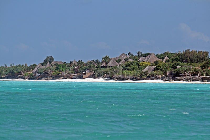 Zanzibar tak arkivfoton