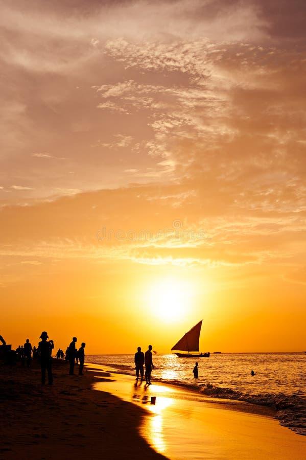 Zanzibar-Träume stockfotos