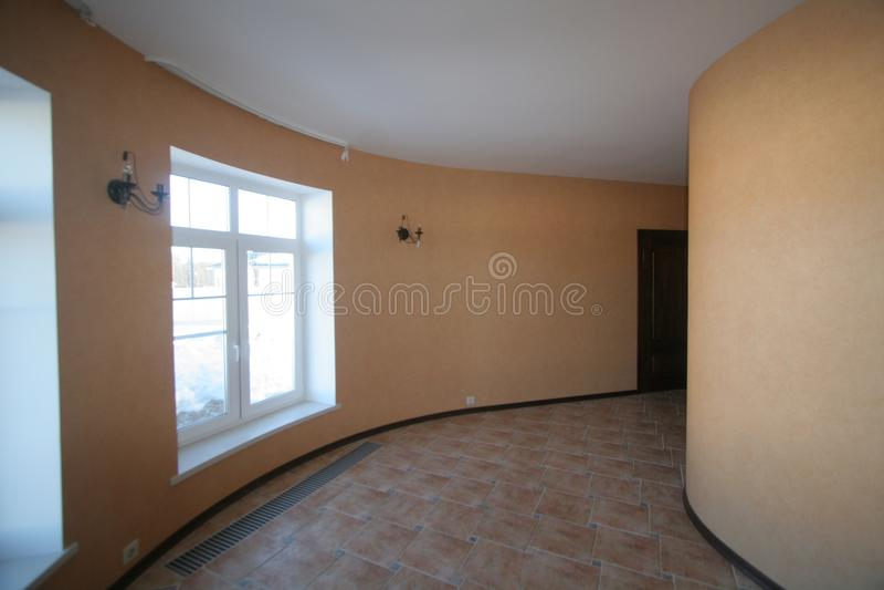 Zaokrąglony korytarz zdjęcie royalty free