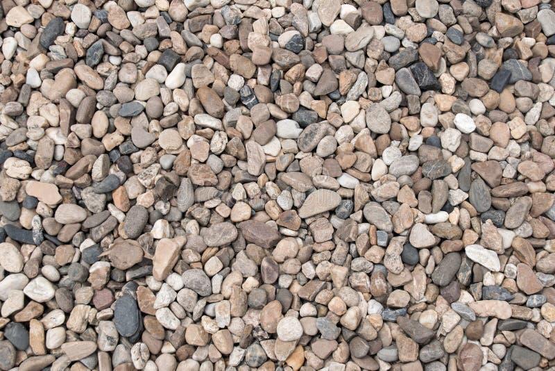 Zaokrąglony skała kamieni stopni tekstury abstrakta tło zdjęcia stock