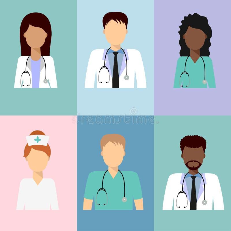 Zaopatrzenia medycznego avatar 4 royalty ilustracja