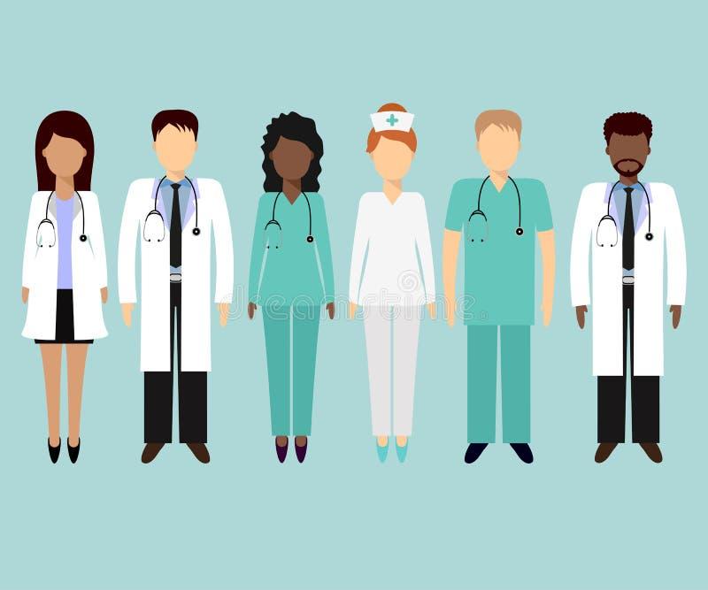 Zaopatrzenie medyczne 2 ilustracja wektor