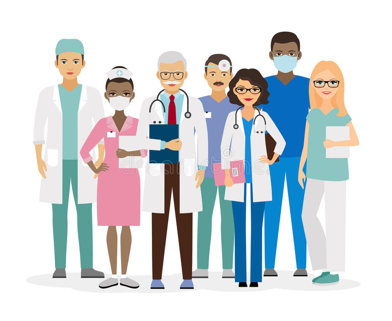 Zaopatrzenie medyczne wektoru ilustracja ilustracja wektor