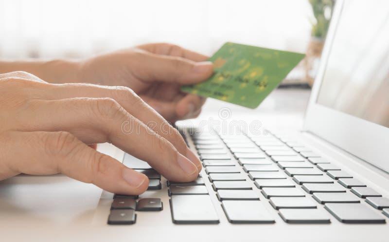 Zapłaty online obrazy stock