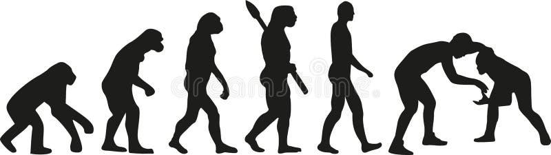 Zapaśnicza ewolucja ilustracji