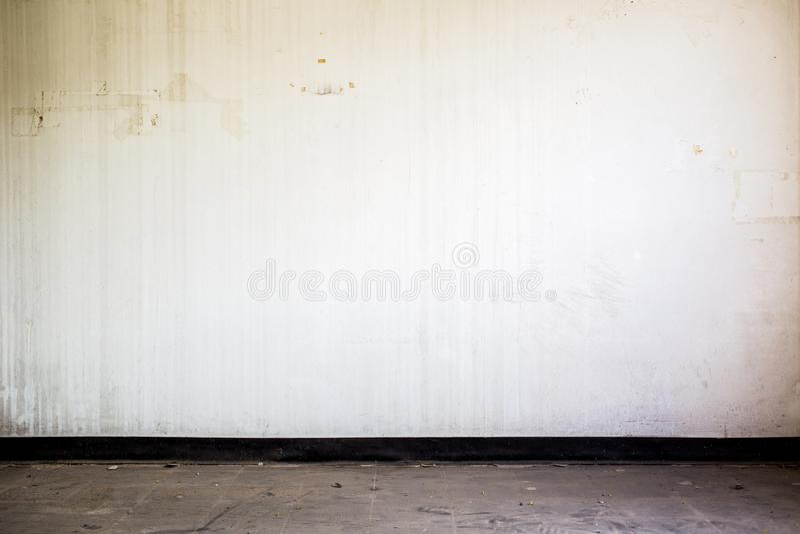 Zapamiętanie pokój z biel ściany tłem zdjęcia stock