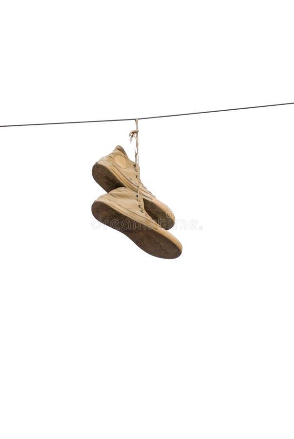 Zapatillas de deporte viejas fotos de archivo