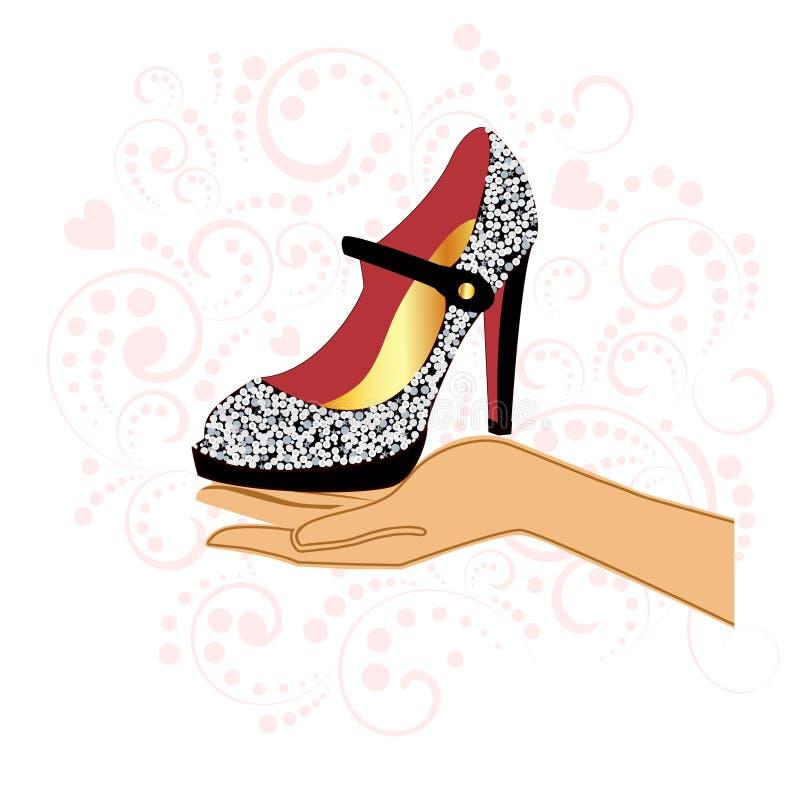 Zapato stock de ilustración
