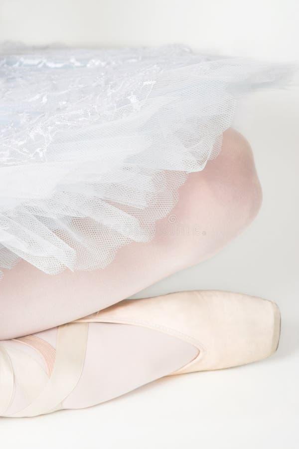 Zapato de ballet fotografía de archivo