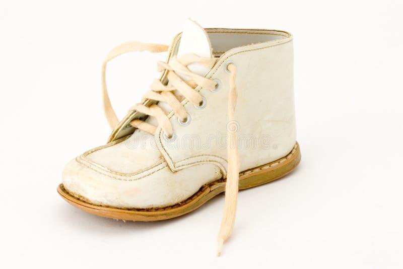 Zapato de bebé fotografía de archivo
