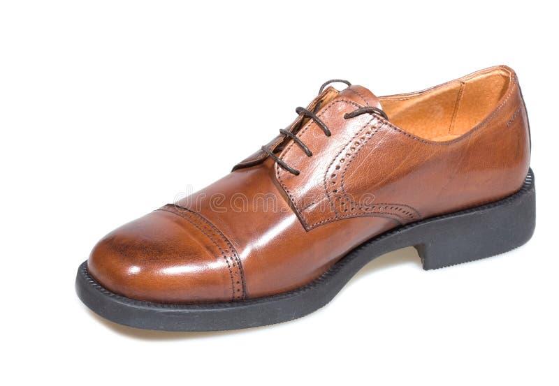 Zapato de Brown fotografía de archivo libre de regalías