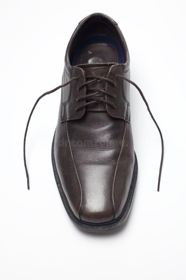 Zapato de Brown fotos de archivo
