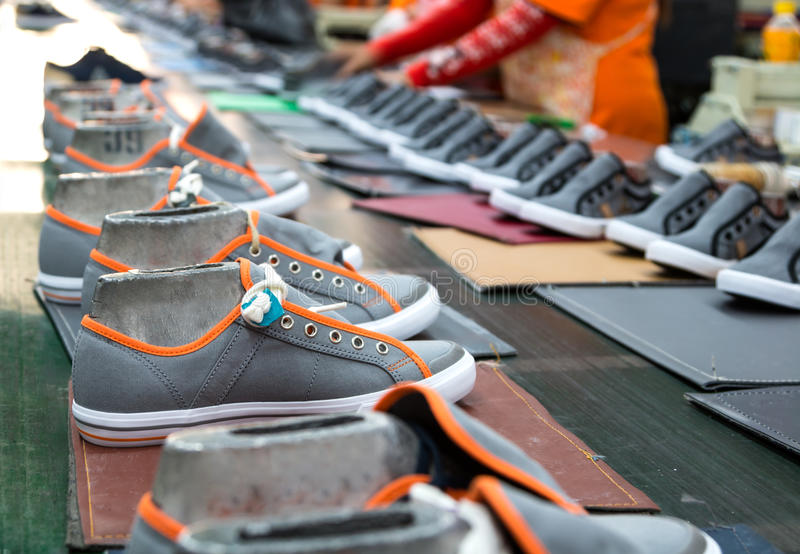 Zapato de la zapatilla de deporte fotografía de archivo libre de regalías