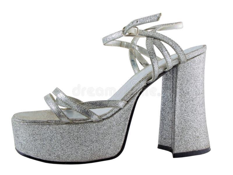 Zapato del alto talón imágenes de archivo libres de regalías