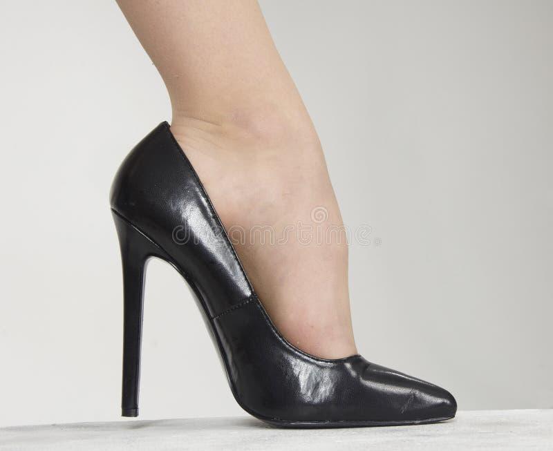 Zapato del tacón alto foto de archivo libre de regalías