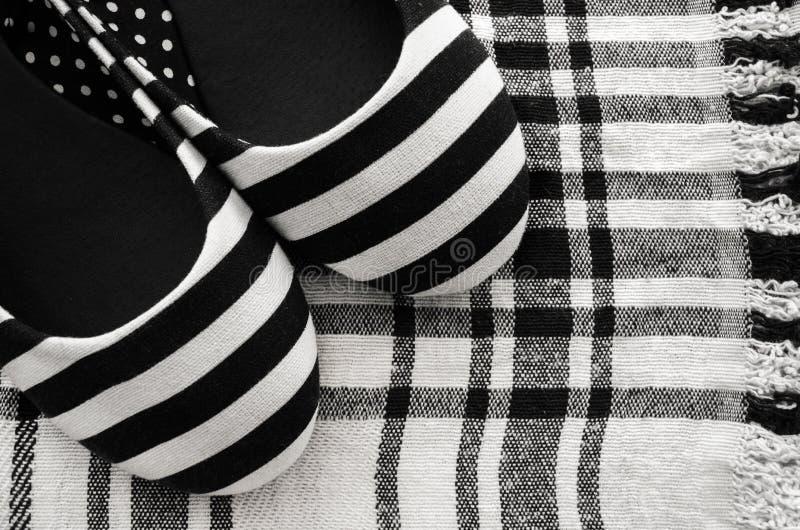 Zapato femenino del verano foto de archivo