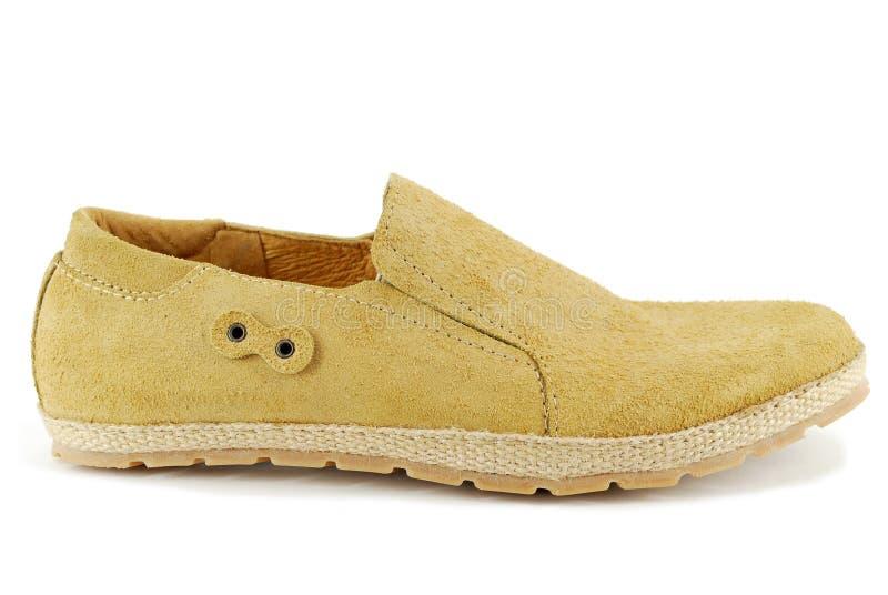 Zapato marrón del hombre fotografía de archivo libre de regalías